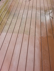Deck Wash Before