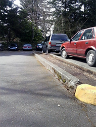 Parking Lot, After - Commercial Cleaning | Portland Metro Area