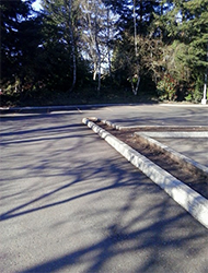 Parking Lot Before, Commercial Cleaning | Portland Metro Area